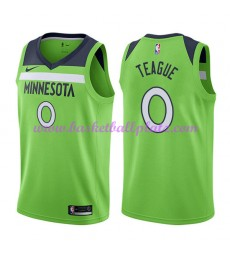 Minnesota Timberwolves Trikot Herren 2018-19 Jeff Teague 0# Statement Edition Basketball Trikots NBA..
